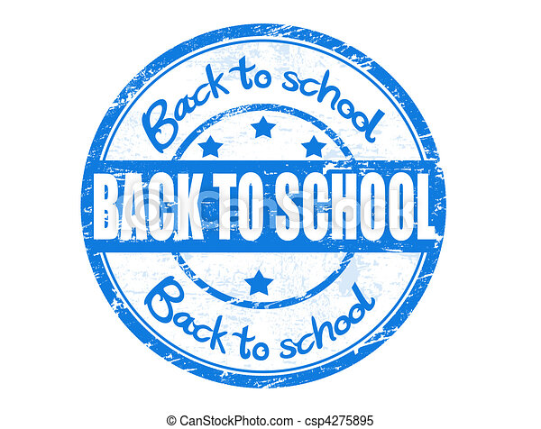 Back to School stamp - csp4275895