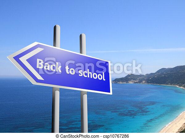 Back to school - csp10767286