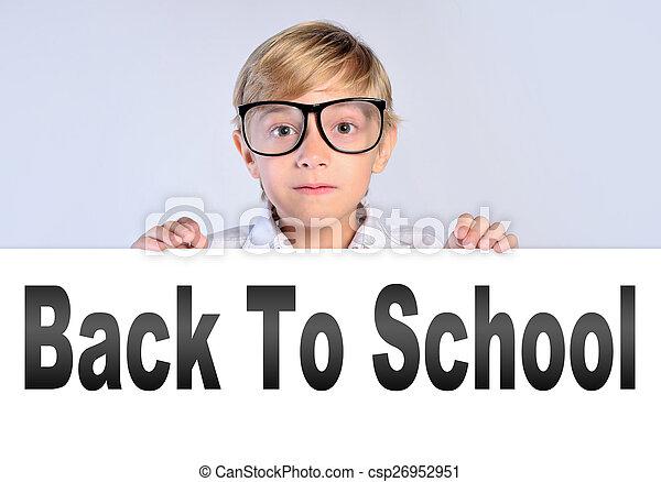 BACK TO SCHOOL - csp26952951