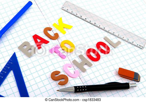 Back to school - csp1833483