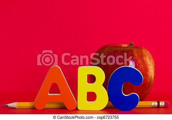 Back to school theme - csp6723755