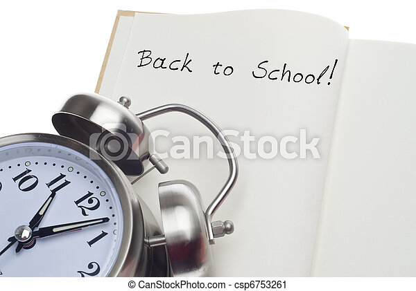 Back to School Time Concept - csp6753261