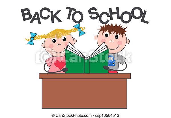 back to school - csp10584513