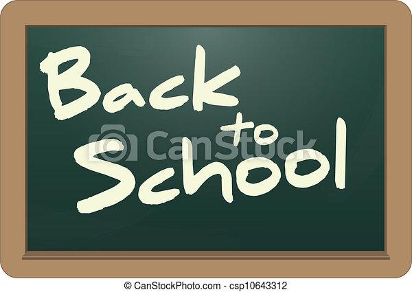 back to school - csp10643312