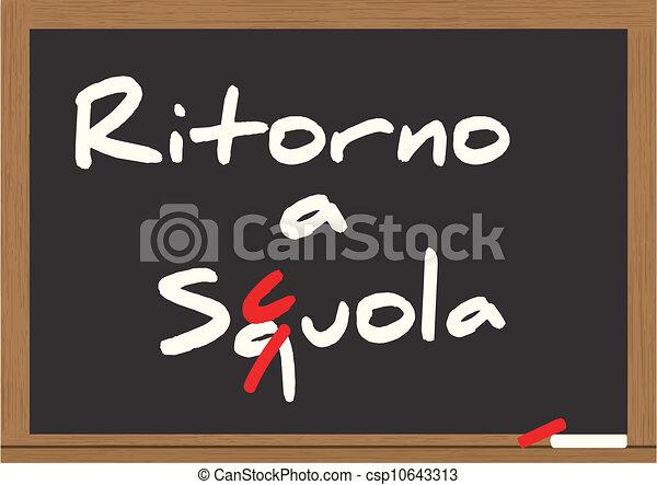 back to school - csp10643313