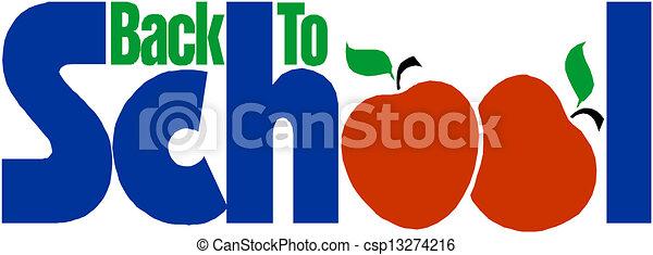Back to School  - csp13274216