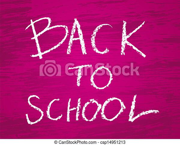 Back to school - csp14951213