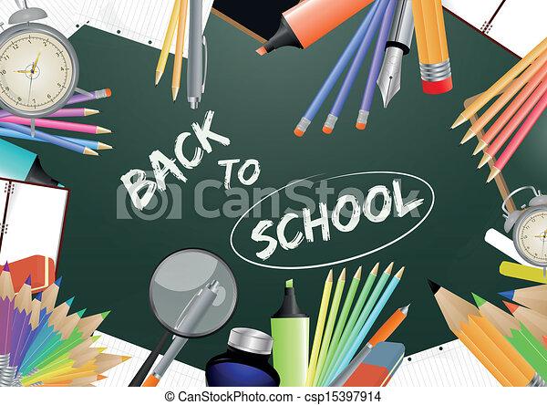 back to school  - csp15397914