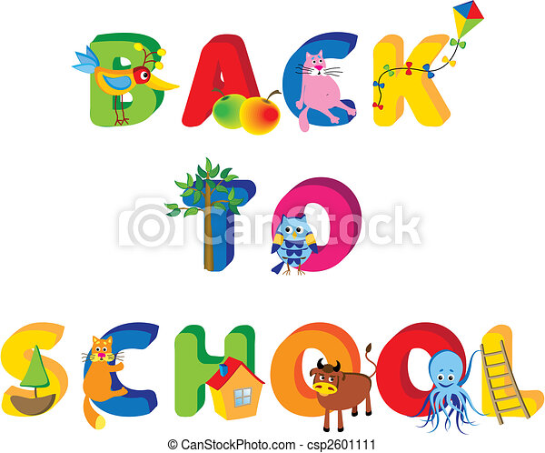 back to school - csp2601111