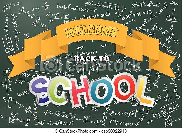back to school  - csp30022910