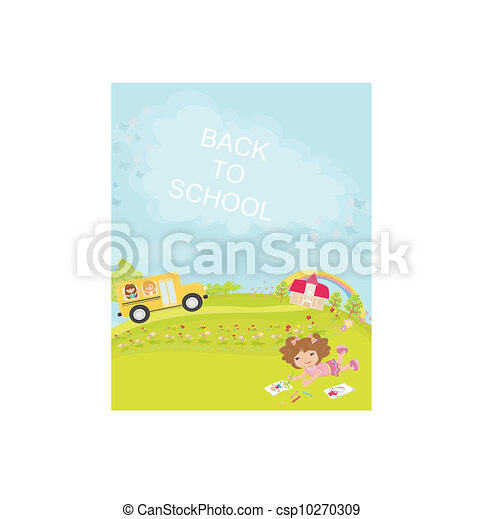 back to school  - csp10270309
