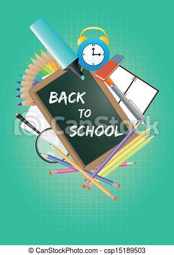 back to school - csp15189503