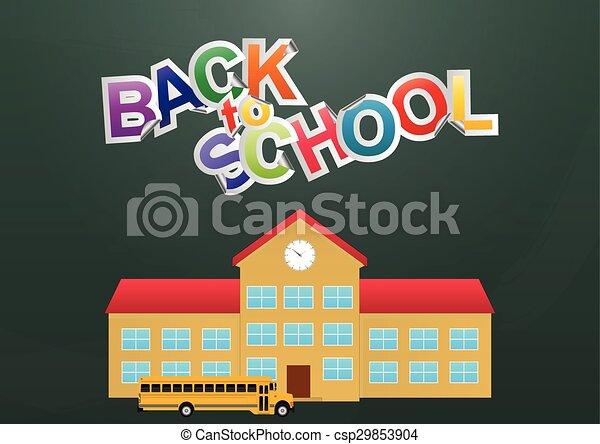 back to school  - csp29853904