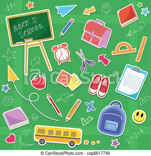 back to school - csp6617740