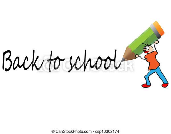 back to school vector - csp10302174