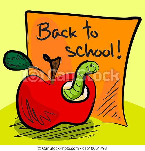 Free School Apple Clipart