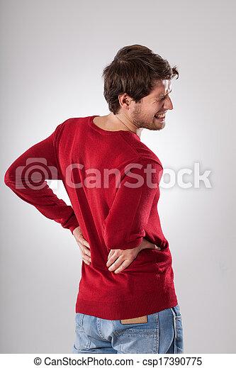 Backache - csp17390775