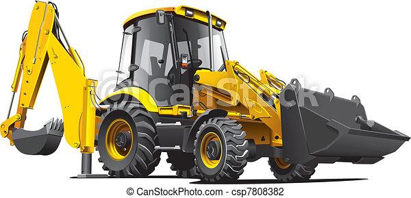 backfiller, amarela - csp7808382