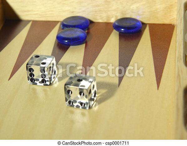 Backgammon Board - csp0001711