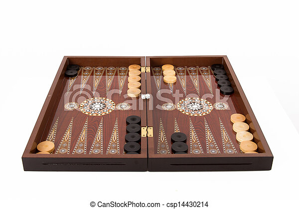 Backgammon Set - csp14430214