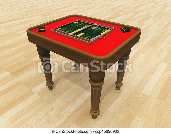 Backgammon Table   Csp45096902