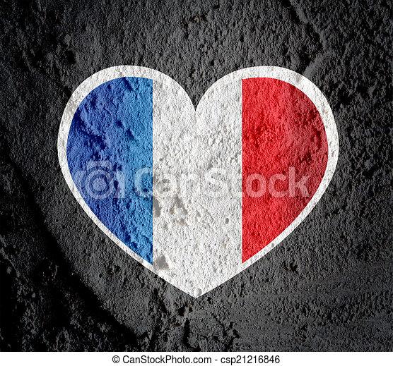backgr coeur amour mur symbole ciment signe drapeau dessin rechercher des. Black Bedroom Furniture Sets. Home Design Ideas