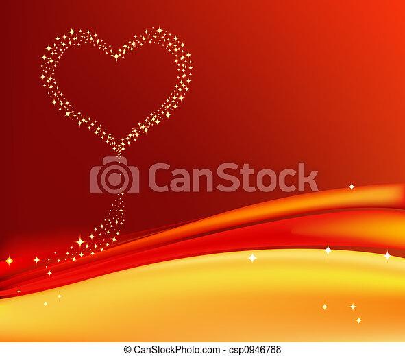 backgr, romantisk, artistisk - csp0946788