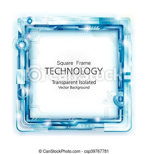 backgroun, résumé, technologie, cadre - csp39767781