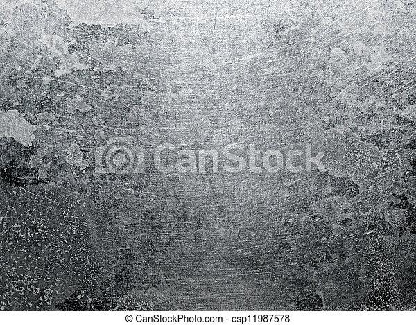 background., металл, текстура - csp11987578