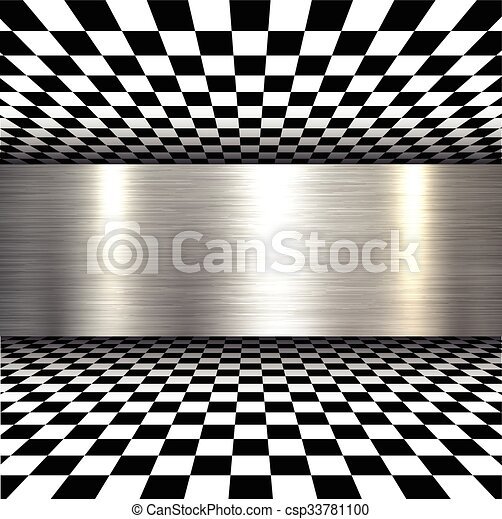 Background 3d metallic - csp33781100