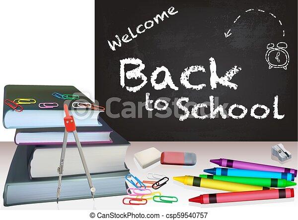 Background Back to School - csp59540757