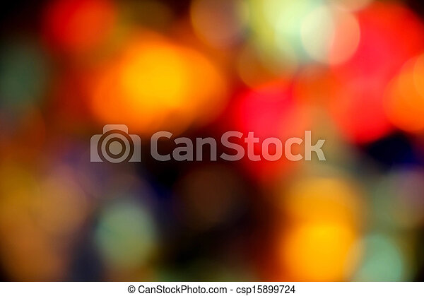 Background - Blurry coloured lights - csp15899724