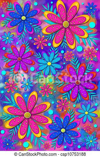 Background brilliant flowers pinks mod and fun scrapbooking background brilliant flowers pinks csp10753188 mightylinksfo