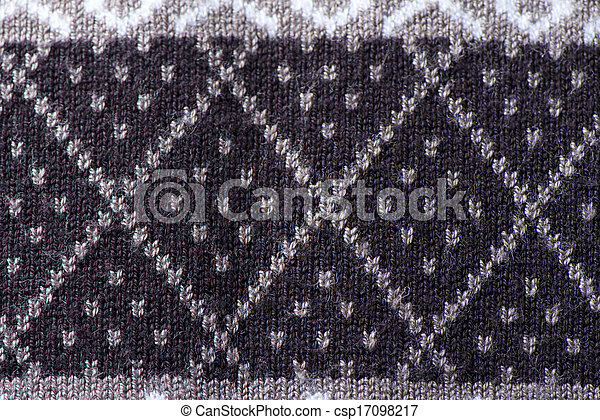 Background brown fabric - csp17098217