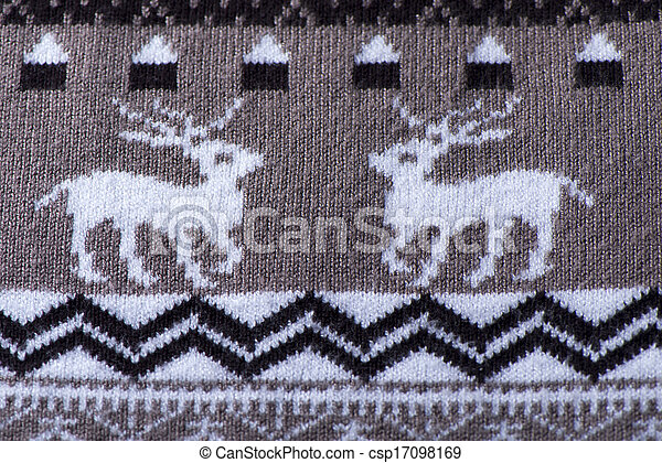 Background brown fabric - csp17098169