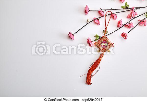 background chinese new year 2019 - csp62942217