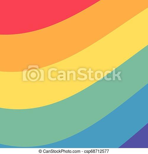 background colors rainbow - csp68712577