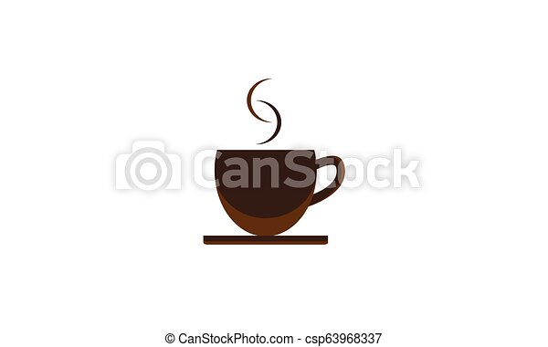 Background cup of coffee - csp63968337