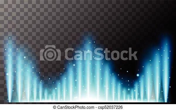 Background design with blue light - csp52037226