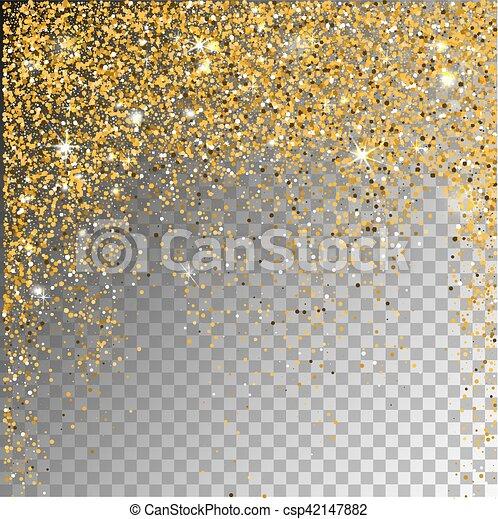 background., falling, снег, прозрачный, sparcle - csp42147882