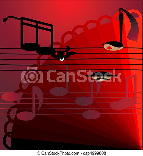 background flamenco - csp4999808