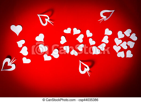 Background for Valentines Day - csp44035386