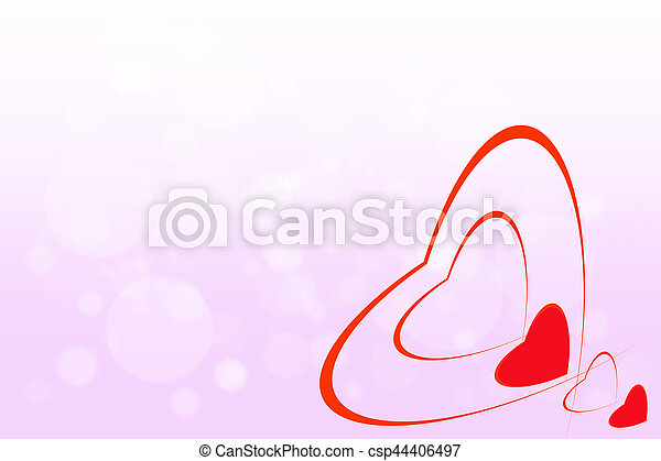 background for valentines day. - csp44406497