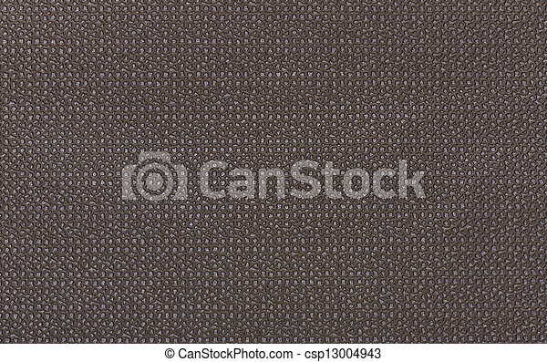 Background from brown coarse canvas texture - csp13004943