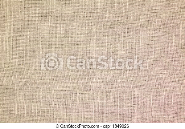 background from linen material - csp11849026