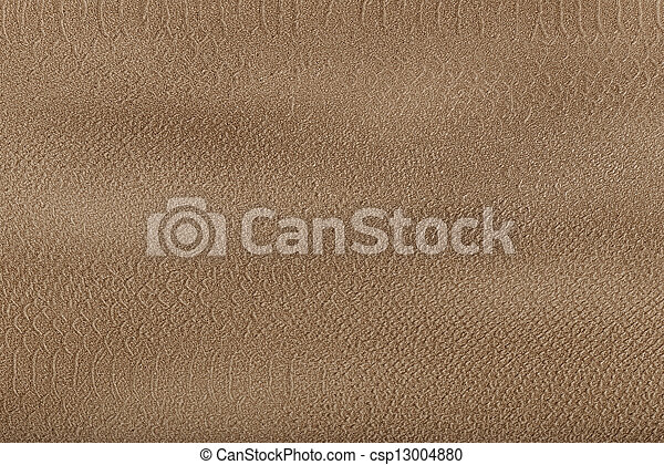 Background from yellow-brown coarse canvas texture - csp13004880