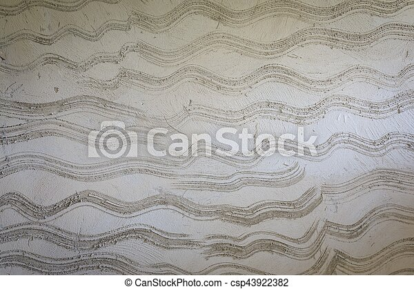 Background gray cement wall texture. - csp43922382