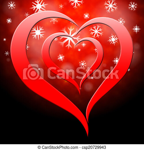 Background Heart Represents Valentine S Day And Affection Heart