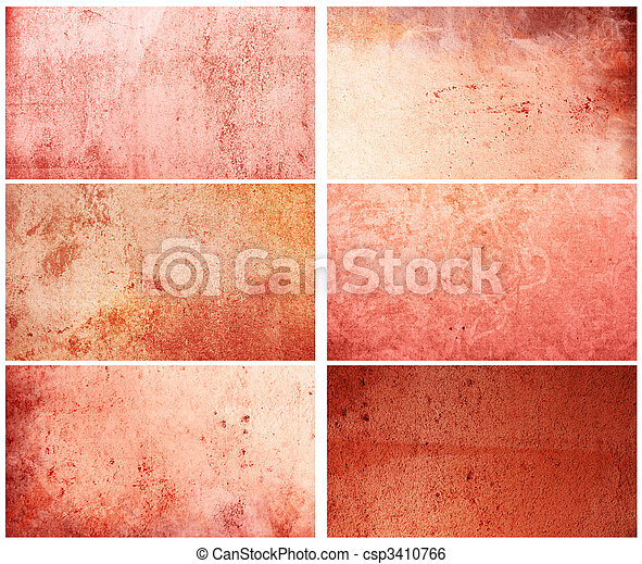 background in grunge style - containing different textures - csp3410766