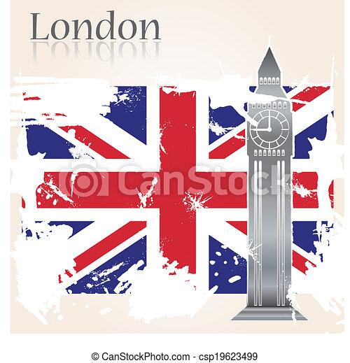 Background London - csp19623499